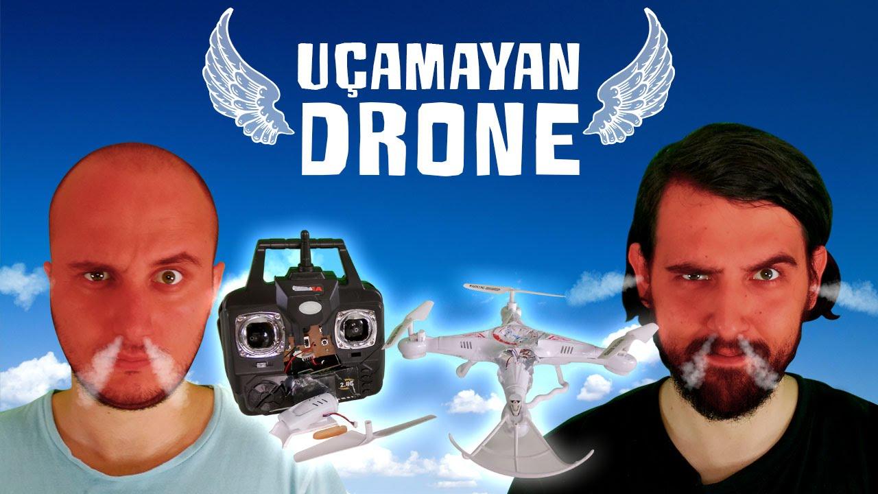 Çinliler Bizi de Kazıkladı: Uçamayan Drone İncelemesi
