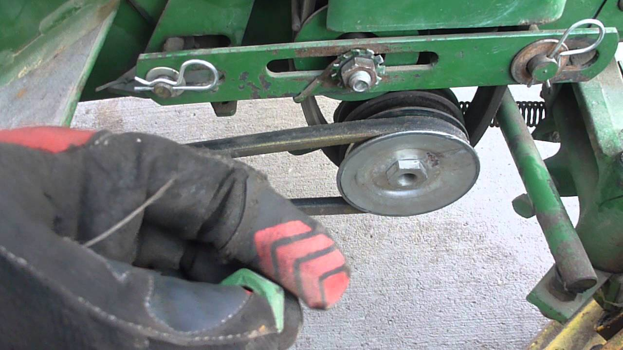 John Deere Model 30 Tiller For A 110 Or 112 Installation Overview