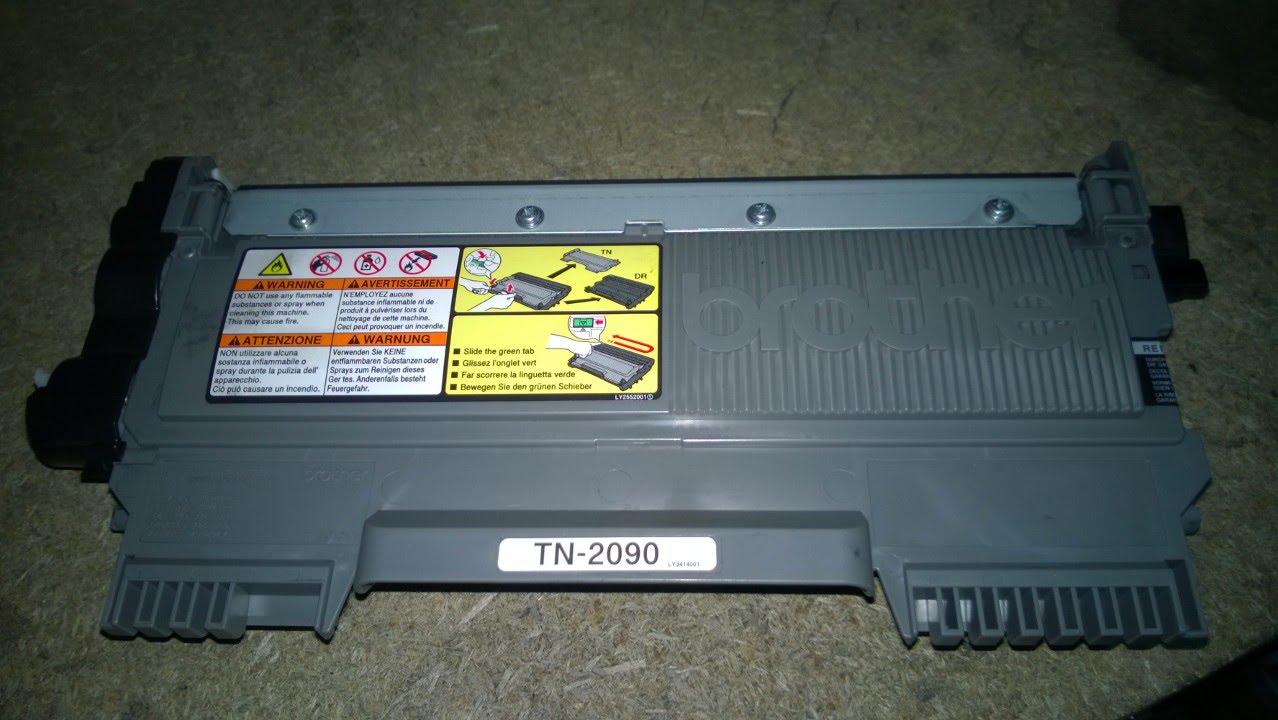 Лазерный принтер для дома с Wi-Fi Brother HL-1210WE - YouTube