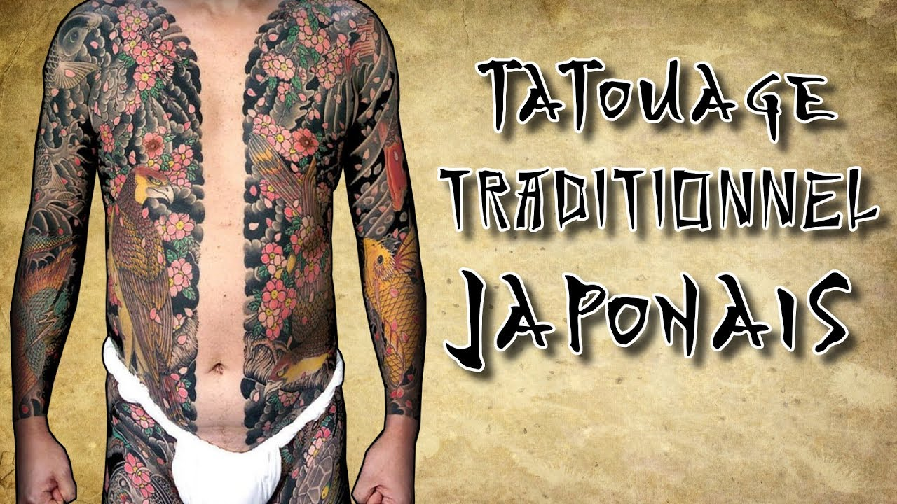 le tatouage traditionnel japonais ou irezumi youtube. Black Bedroom Furniture Sets. Home Design Ideas