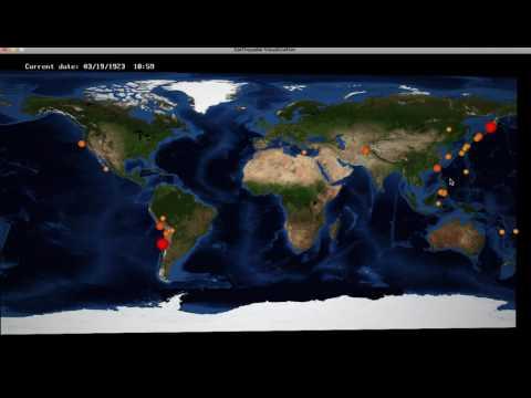 Computer Graphics: Earthquake Visualization