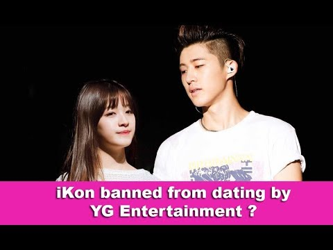 ikon banned from dating