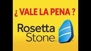 ¿ Vale la pena Rosseta Stone ?