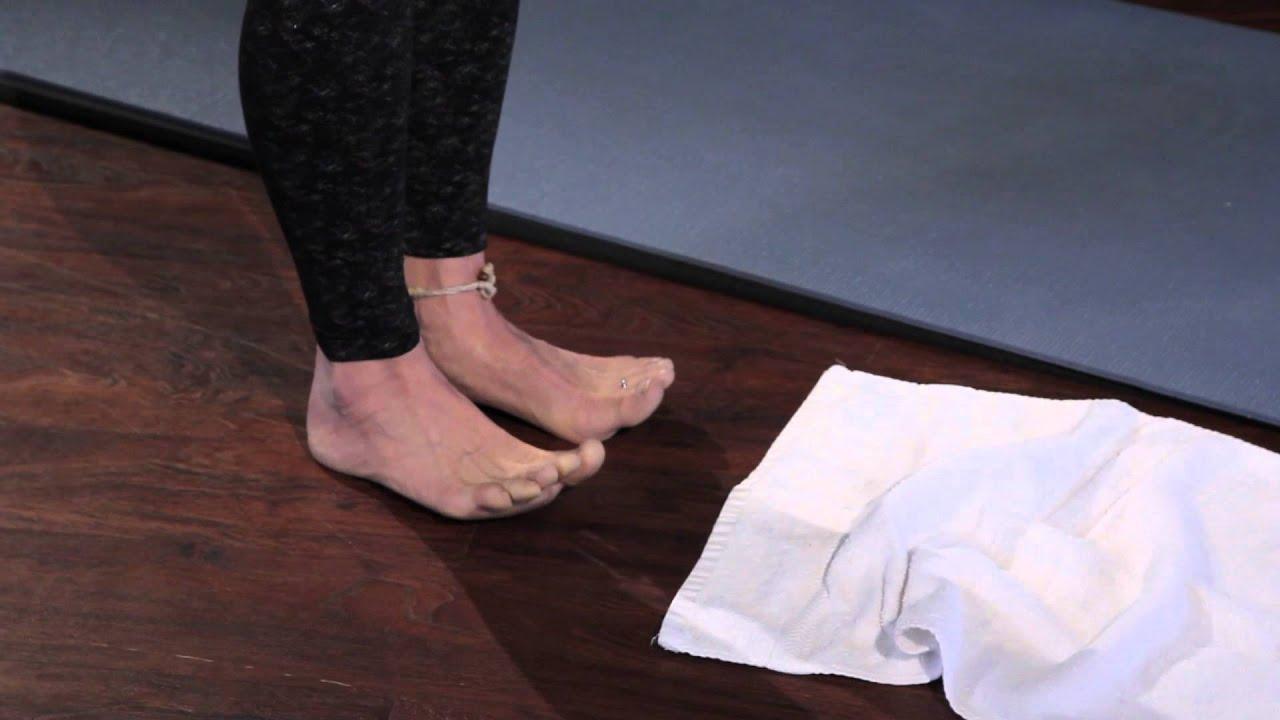 Foot Plantar Fasciitis Exercises