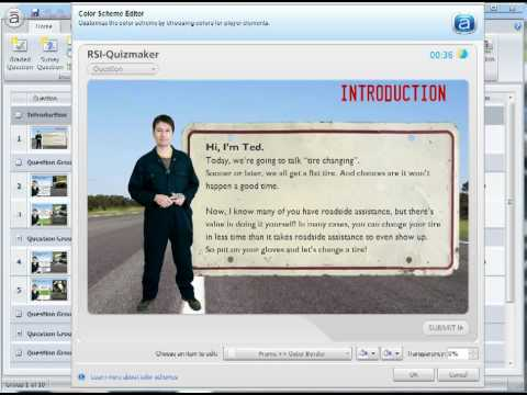 Articulate Quizmaker Tutorial: Overview of quiz and survey templates ...