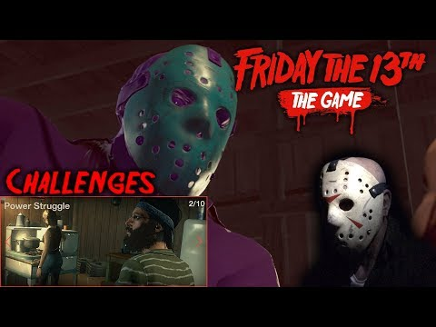 Friday The 13th The Game - Gameplay 2.0 - Challenge 2 - Retro Jason