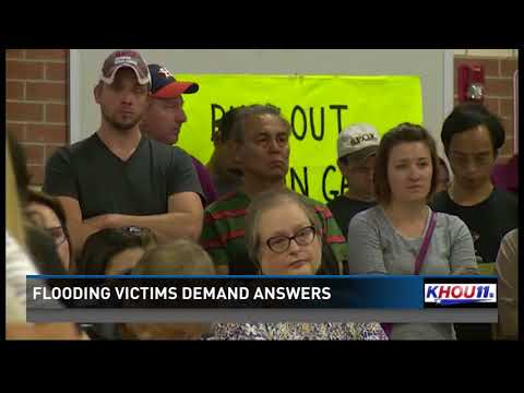 Fort Bend County homeowners call town hall meeting, leave without answers