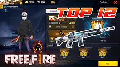 FREE FIRE : TOP 12