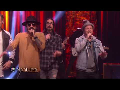 Backstreet Boys & Florida Georgia Line - God, Your Mama, and Me (Live Ellen Show 2017)