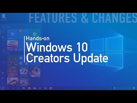 Windows 10 Creators Update: Hands-on with new features and changes