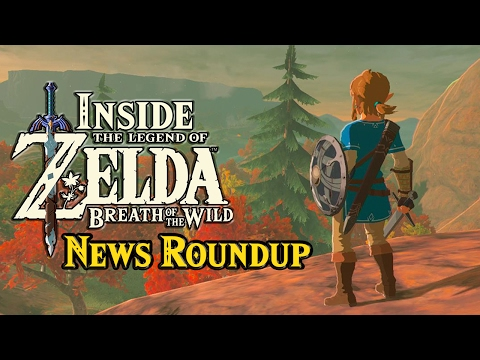 Zelda: Breath of the Wild News - Roundup of the Week and Expansion thoughts!