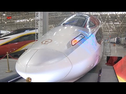 350 km/h high-speed freight train launched in north China
