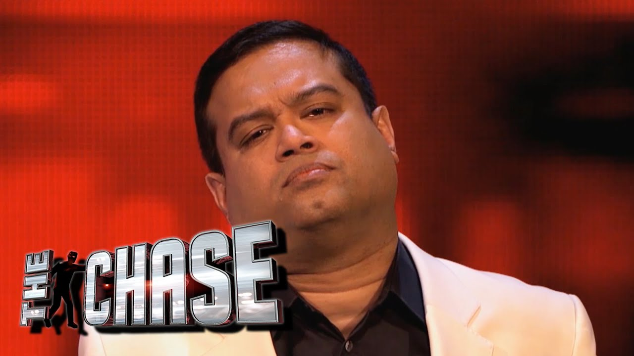 The Chase Outtakes Paul Sinha Walks Off Youtube