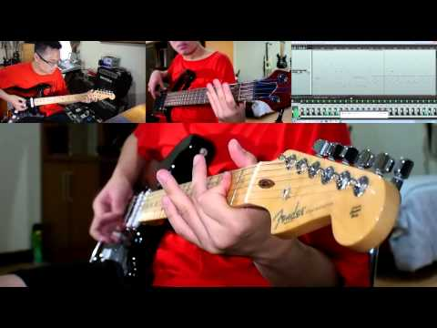 DenganMu Tuhan - Guitar and Bass Instrumental Cover - True Worshipper - by Gary Wiryawan