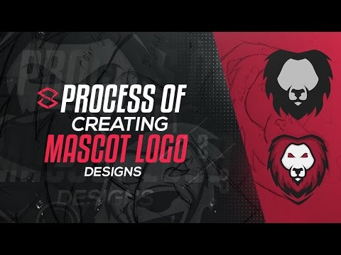 Illustrator Tutorial: Process of Creating Mascot Logo Designs