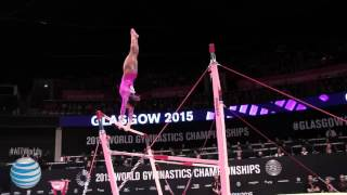 Gabrielle Douglas  - Uneven Bars - 2015 World Championships - Women's Qualifying
