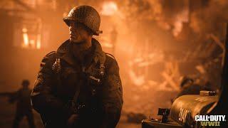 Поиграл в Call of Duty WWII - впечатления от одиночной и сетевой игры. Эксклюзивный геймплей.