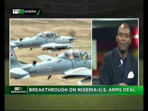 TVC Breakfast 29th December 2017 | Nigeria-US Arms Deal