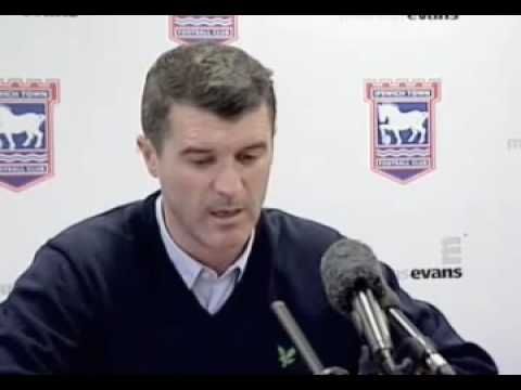 Roy Keane vs Reporter