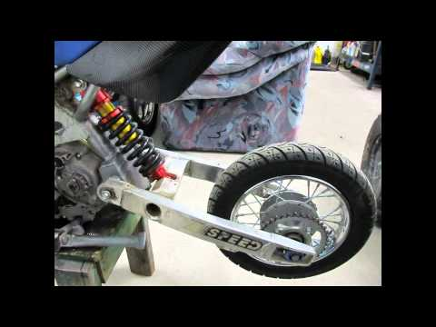 110cc pit bike winter project