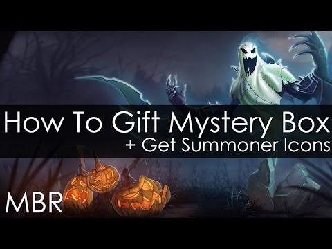 The Harrowing - How to Gift Mystery Box and Get all Harrowing Summoner Icons