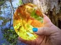 REAL YELLOW GEMSTONE  FOUND DEEP IN THE FORREST ! ON FUN HOUSE TV