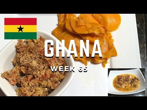 Second Spin, Country 65: Ghana [International Food]