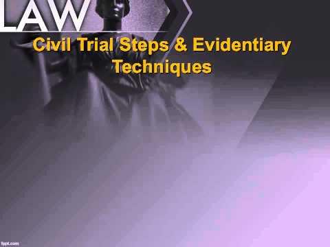 POL 203 Civil and Criminal Procedure SP15 AUDIO LECTURE