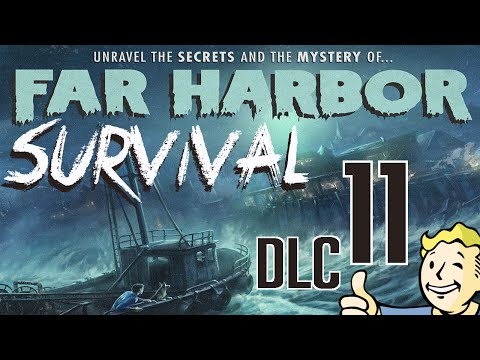 Fallout 4 (SURVIVAL) - FAR HARBOR DLC / 1080p50fps / CZ/SK Lets Play / # 11