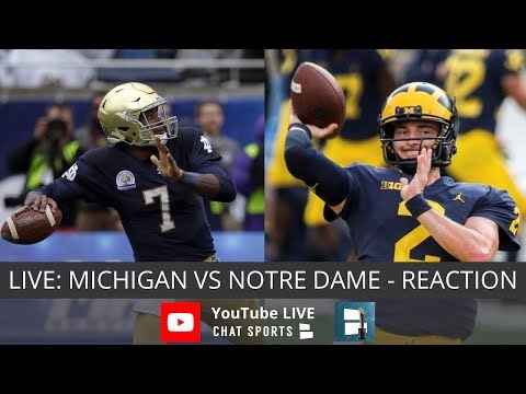 Michigan vs. Notre Dame Live Streaming Reaction & Watch Party