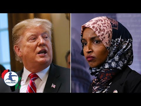 Trumps Wants Somali Born Congress Woman to Apologize After Racially Attacking Her