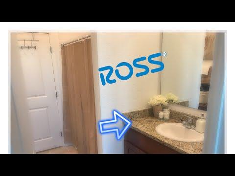 Bathroom Decorating Ideas/ Ross & Marshalls Haul