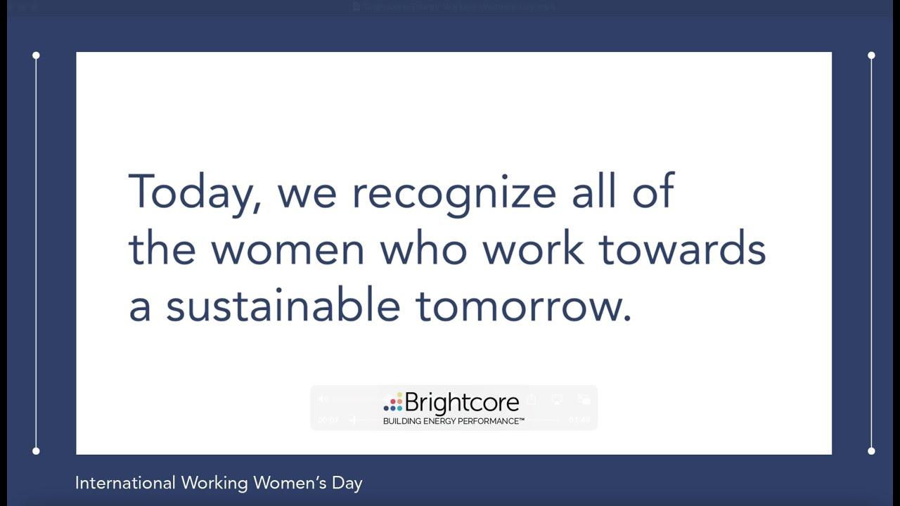 Happy International Working Women's Day