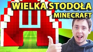 Minecraft Po Polsku Survival na Modach   KOŃCZYMY BUDOWĘ WIELKIEKJ STODOŁY