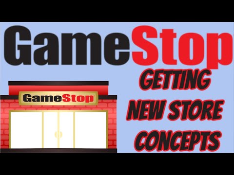 GameStop Getting New Store Concepts