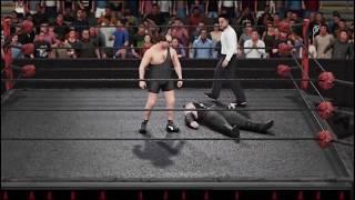 Скачать WWE 2K19 Riddick V The Trash Man