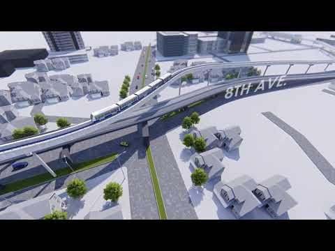 Megaworld's Fort Bonifacio-Makati BGC Skytrain Monorail