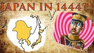 Empire of Japan in 1444??? EUIV Alternative History