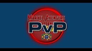 Dupla PVP: Ares e Cavaleiro Negro VS Peste e Hulk Vermelho.