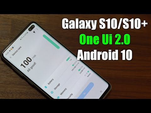 Android 10 On Galaxy S10 Plus - 10+ New Features! (One UI 2.0)