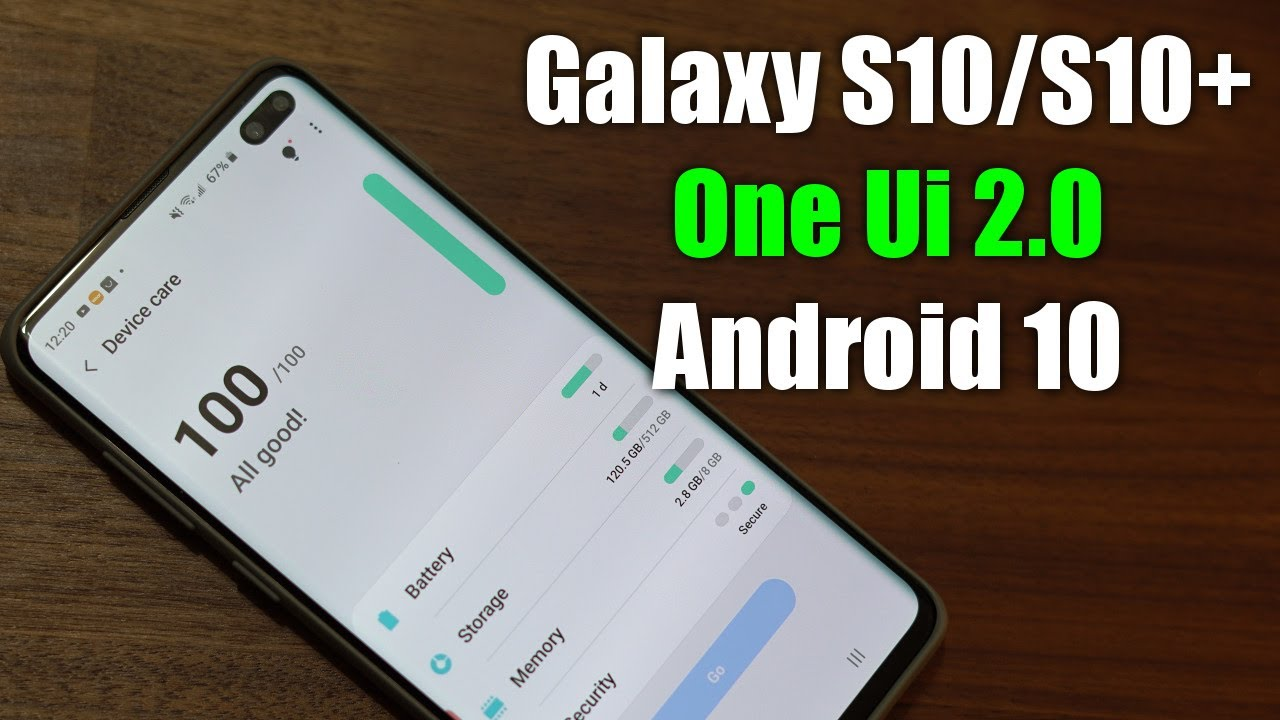 Android 10 on Galaxy S10 Plus - 10+ New Features! (One UI ...