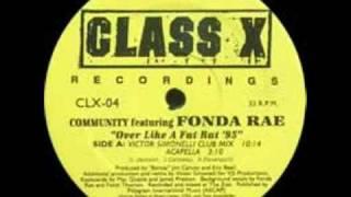 Fonda Rae - Over Like A Fat Rat |Victor Simonelli Club Mix|