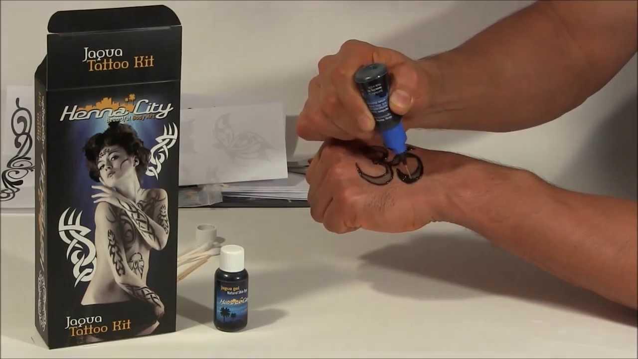 4fd5aae01281a Jagua Tattoo Kit - 1 oz, Full Tattoo Kit – HennaCity
