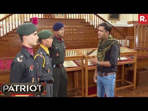 Major Gaurav Arya with Param Vir Chakra Awardees