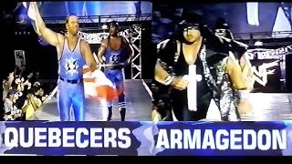 Quebecers vs. Armageddon WWF Español Latino - Superstars Parte 30