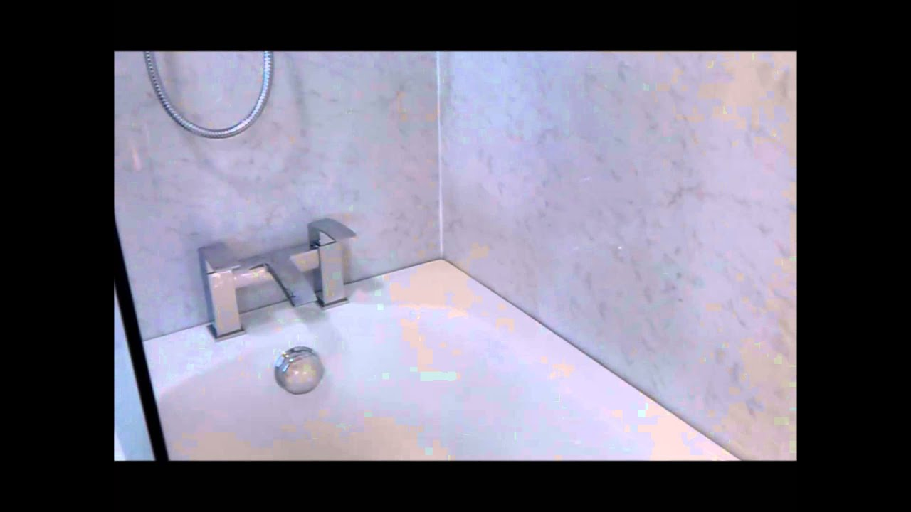 venetian marble uPVC wall boards - YouTube