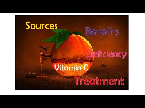 Vitamin CBenefits,Sources,Deficiency & Treatment-Medicine Basics Simplified