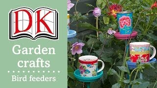 Garden Ideas: How To Make Bird Feeders
