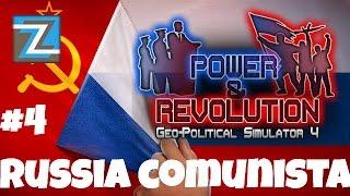 Geo-Political Simulator 4 - Russia [4] Inicio da Russia Comunista! #gps4 PT-BR