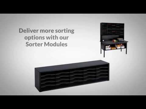 Safco E-Z Sort Mail Room Furniture